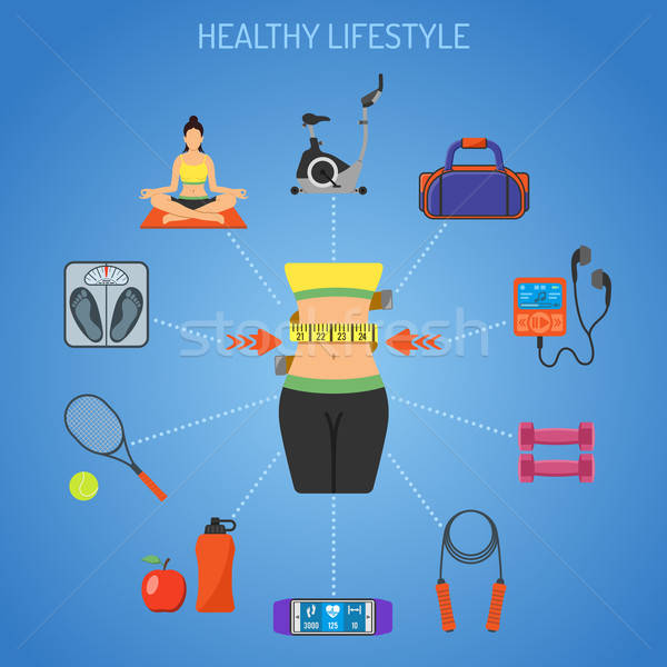 Healthy Lifestyle Concept Stock photo © -TAlex-