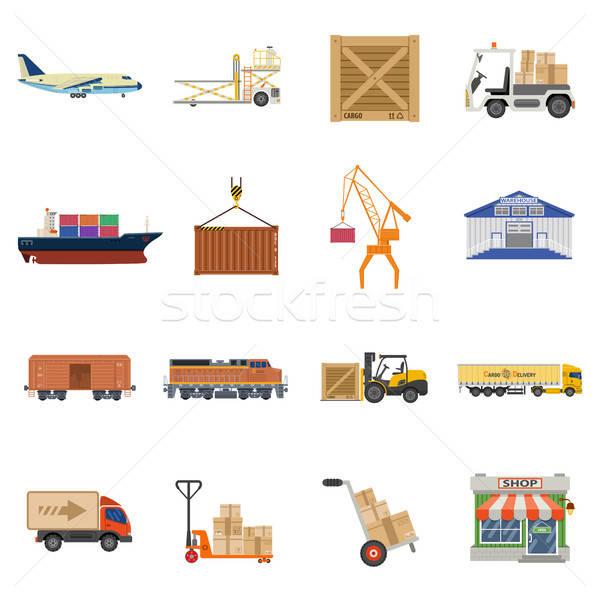 Fret transport logistique emballage expédition Photo stock © -TAlex-