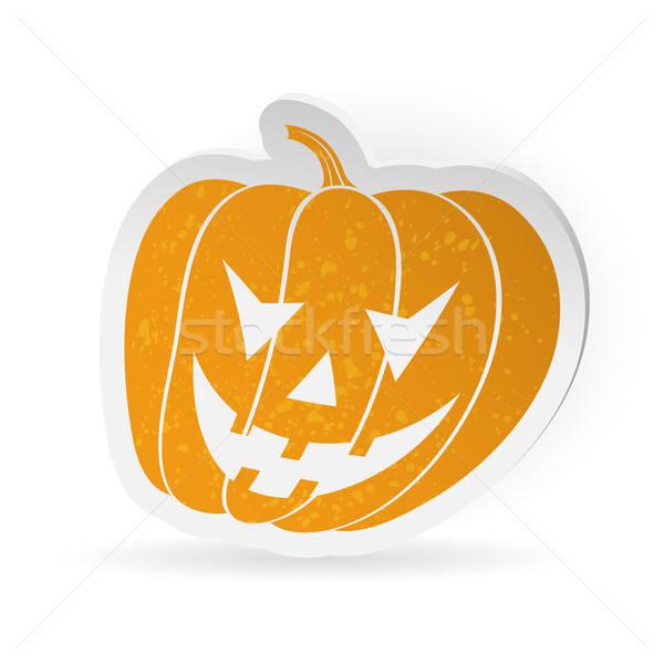 Halloween sticker Stock photo © -TAlex-