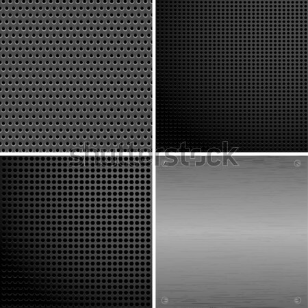 Metall plate Stock photo © -TAlex-