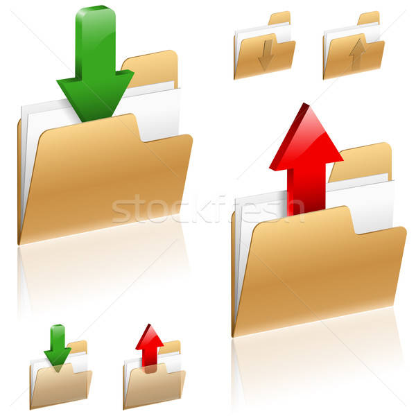 Download and Upload Concept Stock photo © -TAlex-