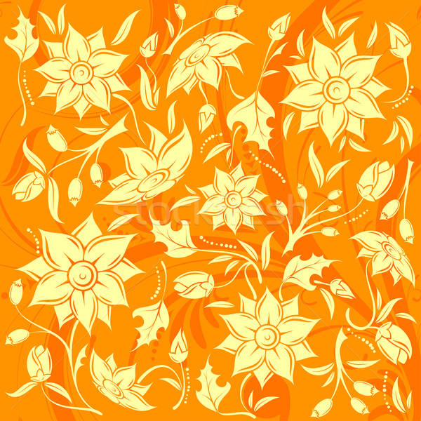 Flower pattern Stock photo © -TAlex-