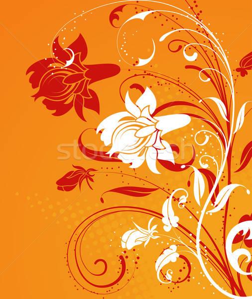 Bloem element ontwerp voorjaar abstract natuur Stockfoto © -TAlex-