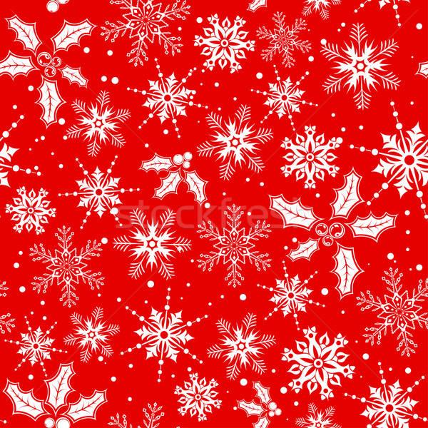 Christmas seamless background Stock photo © -TAlex-