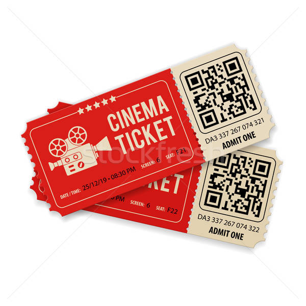 Set Cinema Tickets Stock photo © -TAlex-