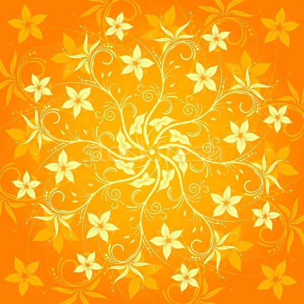 Abstrakten Blumenmuster Element Design Blume Textur Stock foto © -TAlex-