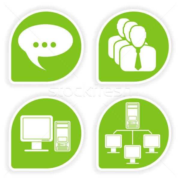 商业照片 / 矢量图: 环境 · 贴纸 · 顾客 · 计算机 · 因特网