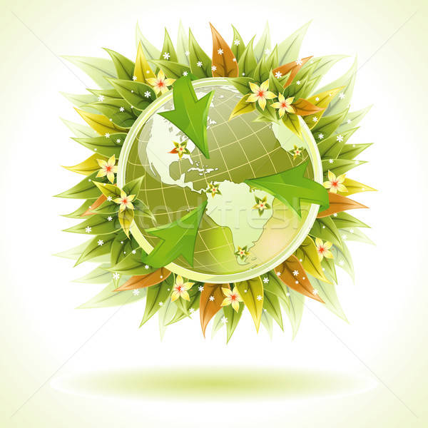 Concept - Environmentally Friendly Planet Stock photo © -TAlex-