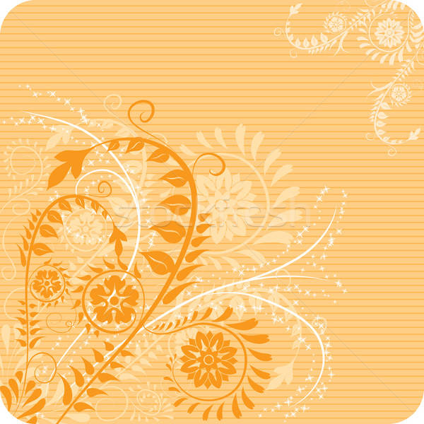 Bloem communie ontwerp vector kunst zomer Stockfoto © -TAlex-