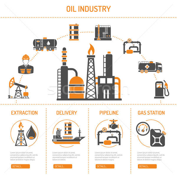 Oil industry Concept Stock photo © -TAlex-