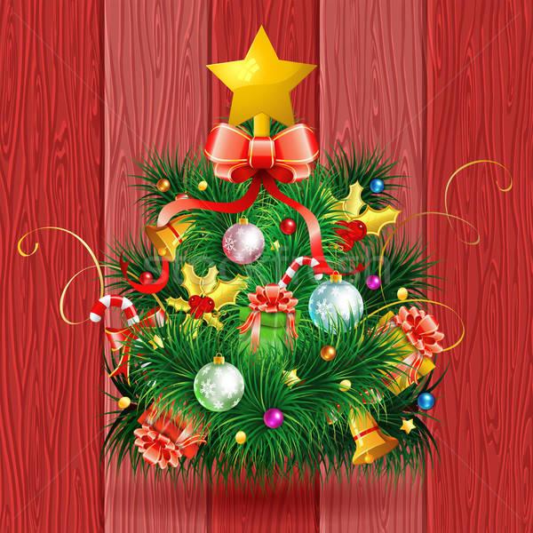 Christmas Tree Stock photo © -TAlex-