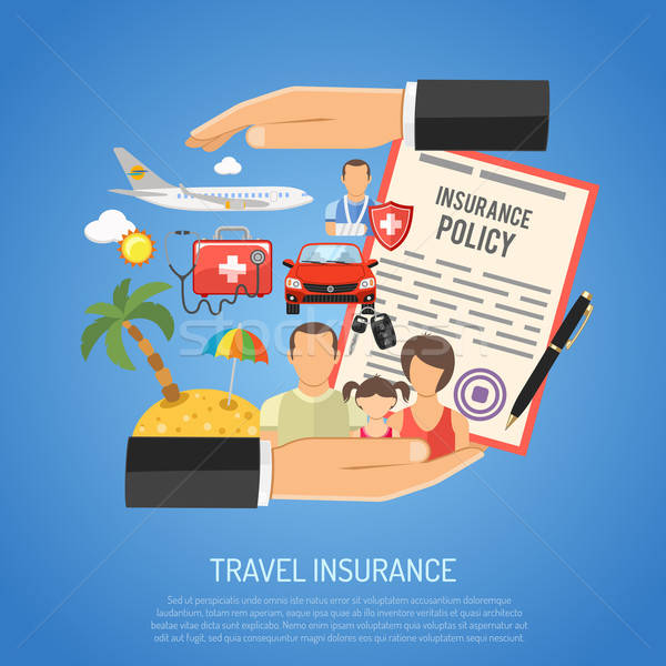 Travel Insurance Concept Stock photo © -TAlex-