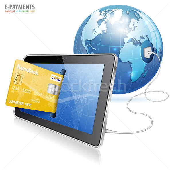 Electronic Payment Concept Stock photo © -TAlex-