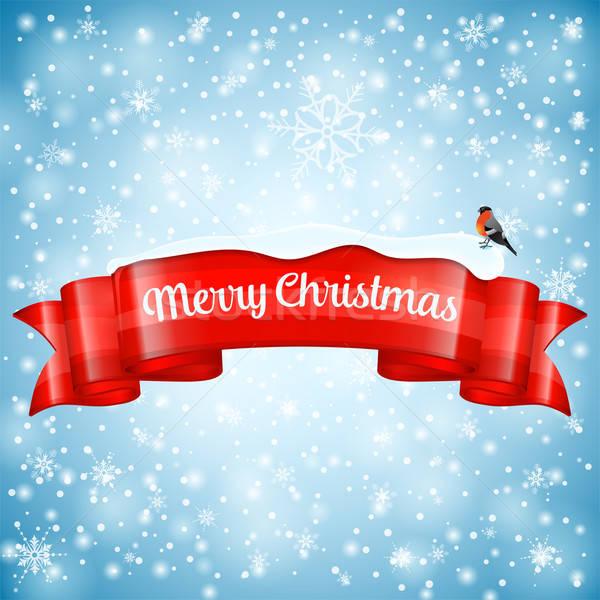 Stock photo: Christmas Greeting Card