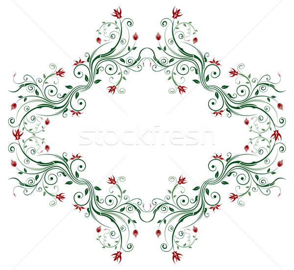 цветочный абстракция аннотация хаос элемент дизайна Сток-фото © -TAlex-