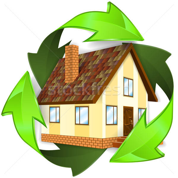 Ecological and Energy Saving Concept Stock photo © -TAlex-
