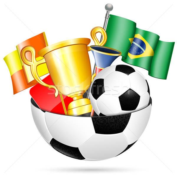 Soccer Items Stock photo © -TAlex-