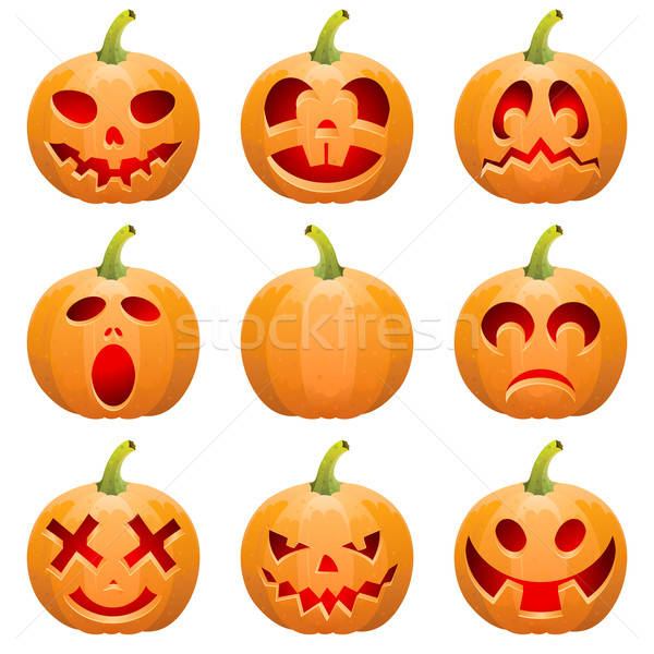 Collect Pumpkin for Halloween Stock photo © -TAlex-