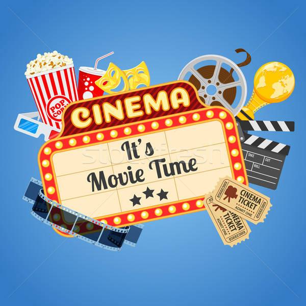 Cinema and Movie time Stock photo © -TAlex-