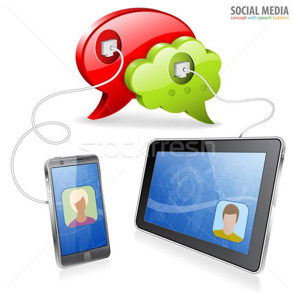 Social Media Concept Stock photo © -TAlex-