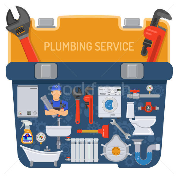Plumbing Service Concept Stock photo © -TAlex-