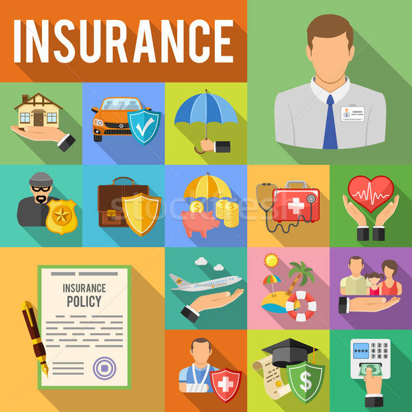 Stock photo: Insurance Services concept