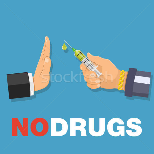 stop drugs concept Stock photo © -TAlex-