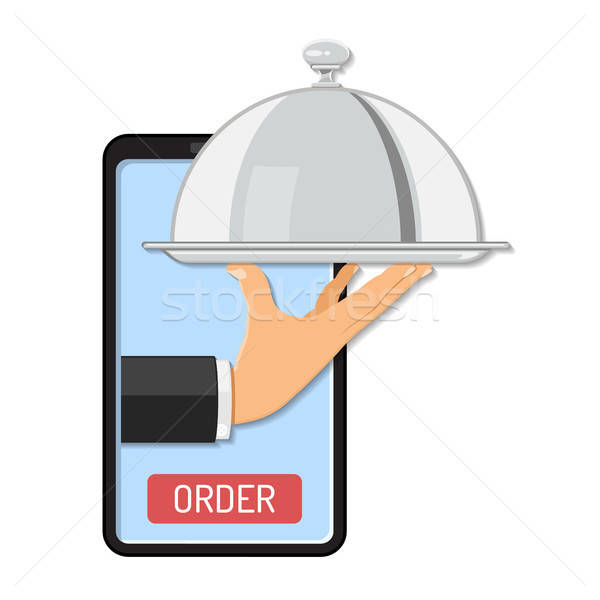 Online Order Concept Stock photo © -TAlex-