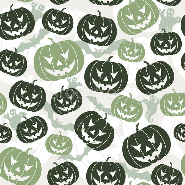 Halloween seamless background Stock photo © -TAlex-