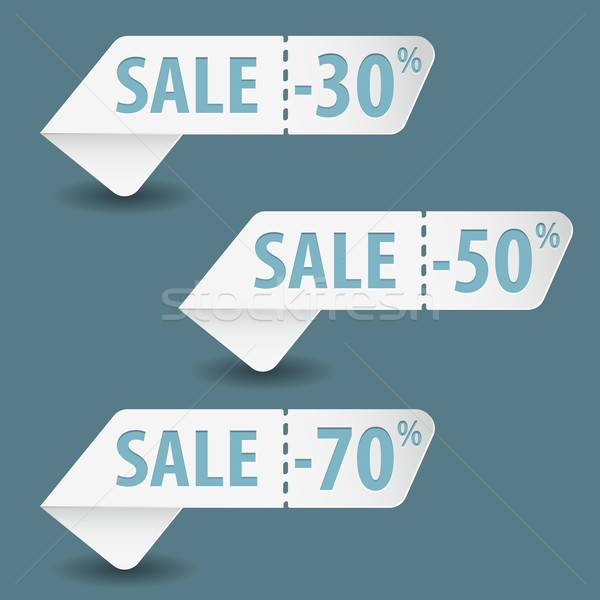 ストックフォト: 販売 · 標識 · 紙 · ショッピング · ショップ · 広告