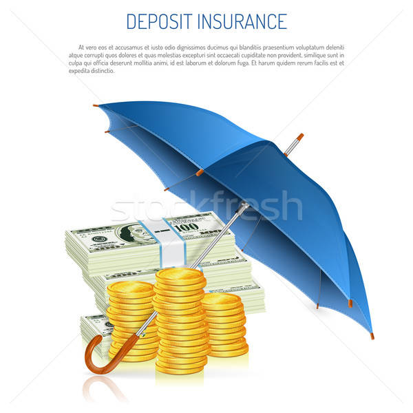 Deposit Insurance Stock photo © -TAlex-