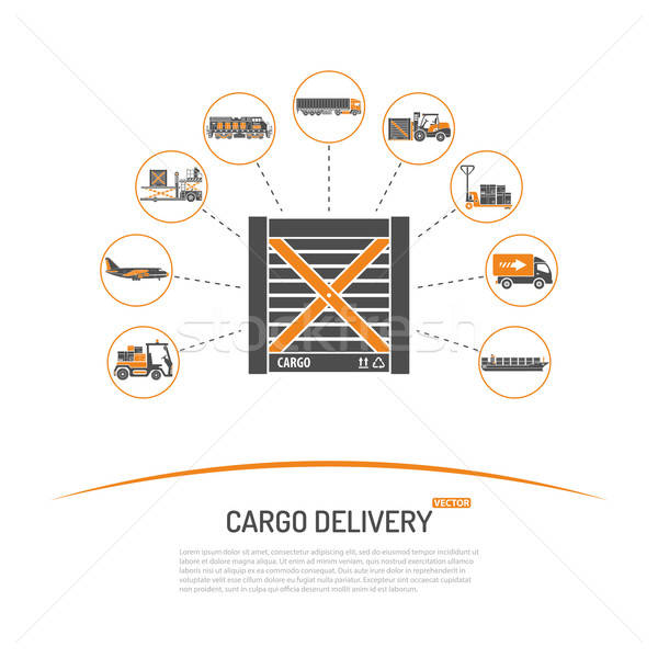 Cargo Delivery Concept Stock photo © -TAlex-