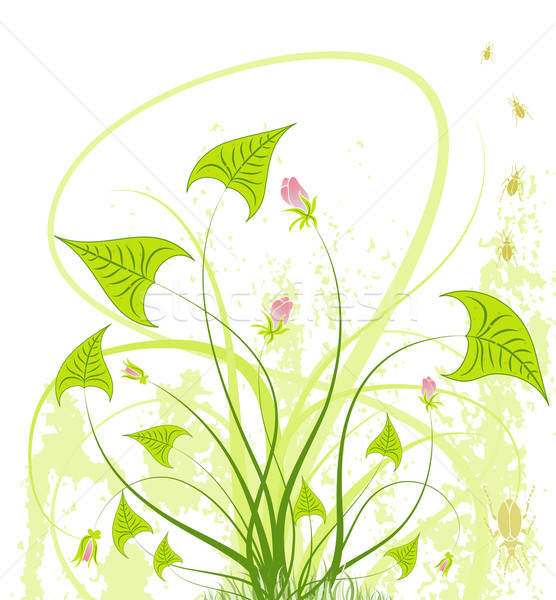 Abstract floral chaos Stock photo © -TAlex-