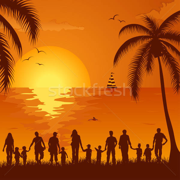 Summer background Stock photo © -TAlex-