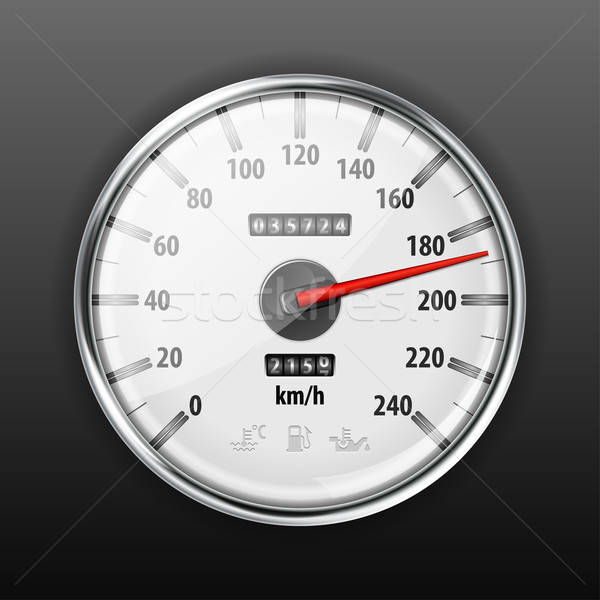 Speedometer Stock photo © -TAlex-