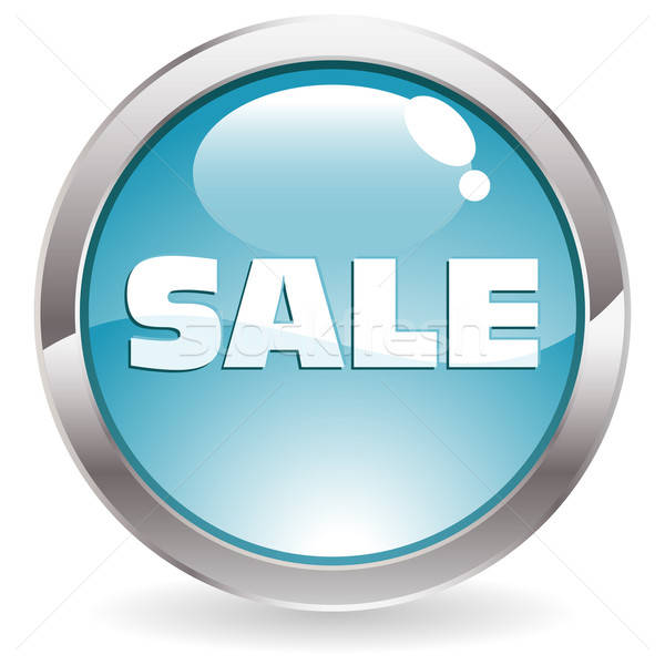 Gloss Button with the text Sale Stock photo © -TAlex-