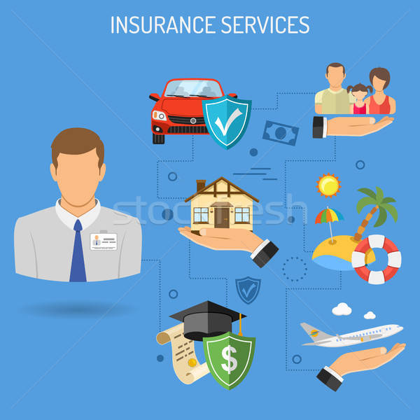 Insurance Services Banner Stock photo © -TAlex-