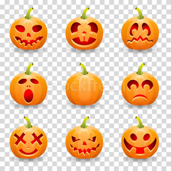 Stock photo: Collect Pumpkin for Halloween