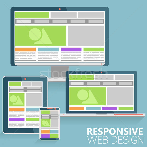 Responsive Web Design Stock photo © -TAlex-