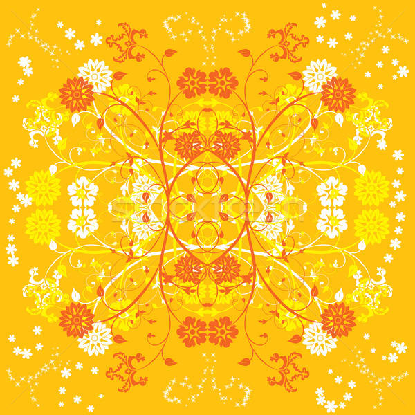 Background flower, elements for design, vector Stock photo © -TAlex-
