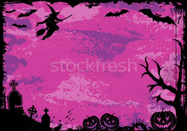 Halloween frame Stock photo © -TAlex-