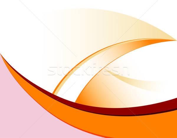 Modello onda elemento design abstract sfondo arte Foto d'archivio © -TAlex-