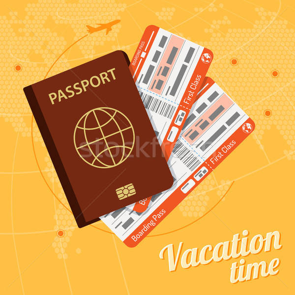 Vacation and Tourism Concept Stock photo © -TAlex-