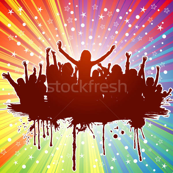Stock photo: Party background