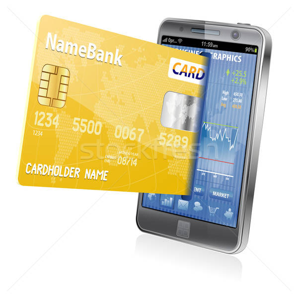 Internet Shopping and Electronic Payments Concept Stock photo © -TAlex-