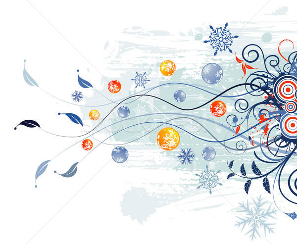 Absztrakt karácsony grunge festék alkotóelem terv Stock fotó © -TAlex-