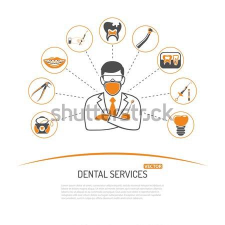 medicine and healthcare infographics Stock photo © -TAlex-