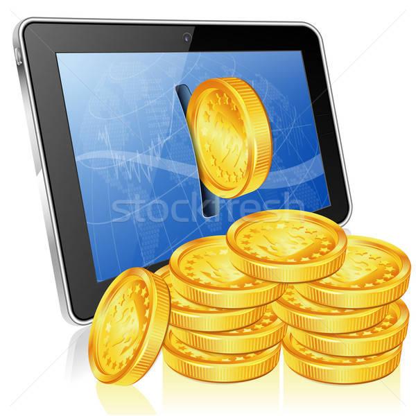 Financial Concept - Make Money on the Internet Stock photo © -TAlex-