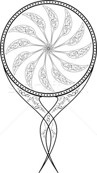 Mirror, vector illustration Stock photo © -TAlex-