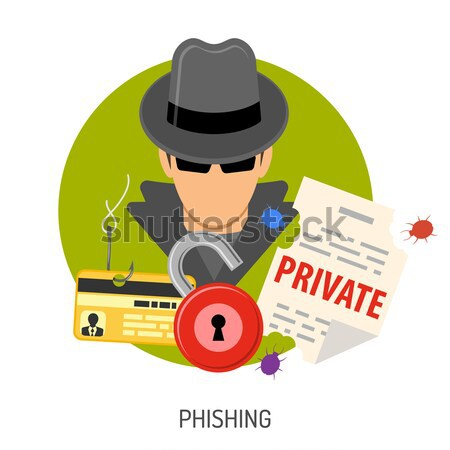 Cyber Crime Banners Stock photo © -TAlex-